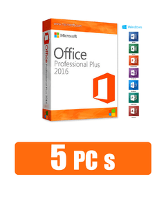Office 2016 Professional Plus 5 PC´S