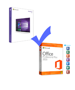 Windows 10 Pro + Office 2016 Professional Plus