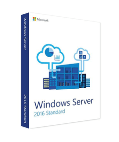 Windows Server 2016 Standard + 5 cal