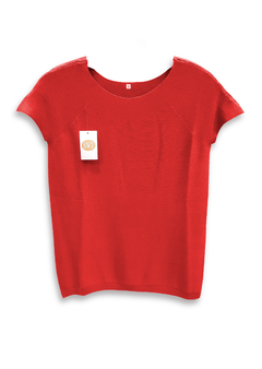 Remera Tejida De Hilo De Viscosa Sweater  - Switch Sweaters en internet