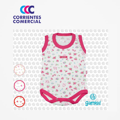 "BODY ESTAMPADO ""GAMISE"" SIN MANGA MAGIC KIDS - tienda online"