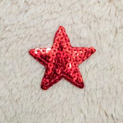 Patch Bordado Red Star