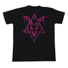 Camiseta Preta See You In Hell - Pink Neon