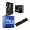 Combo Intel i7 10700 + Asus TUF Gaming Z490 Plus (WI-FI) + Corsair LPX 8GB 2400MHz