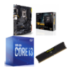 Combo Intel i3 10100 + Asus TUF Gaming Z490 Plus (WI-FI) + Corsair LPX 8GB 2400MHz