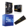 Combo Intel i7 10700 + Asus TUF Gaming Z490 Plus (WI-FI) + Corsair LPX 16GB 3200MH