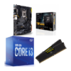 Combo Intel i3 10100 + Asus TUF Gaming Z490 Plus (WI-FI)  + Corsair LPX 16GB 3200MHz