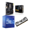 Combo Intel i7 10700 + Asus TUF Gaming Z490 Plus (WI-FI) + XGP D30 8GB 3000MHz