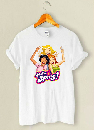 Camiseta Totally Spies 2000's