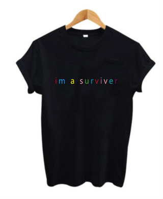 Camiseta 90s Im a Surviver