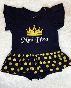 Body vestido Mini Diva