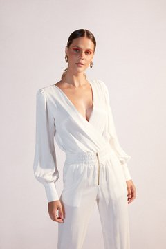 BODY CAMISA TRANSPASSE OFF WHITE