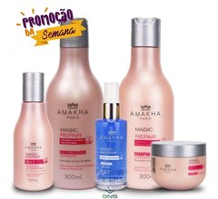 kit hidratação profunda completa  -magic repair Amakha Paris-
