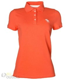 Camisa polo feminina Abercrombie & Fitch Hollande
