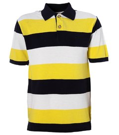 Camisa polo infantil masculina The Children's Place Colegial