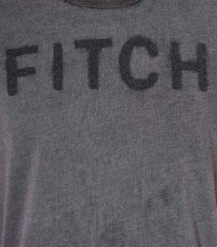 Camiseta masculina Abercrombie & Fitch Musette - comprar online