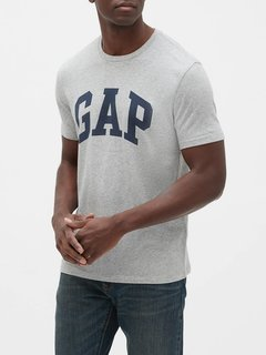 Camiseta masculina Gap Fun Gray