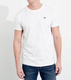 Camiseta masculina Hollister Must-Have WHT
