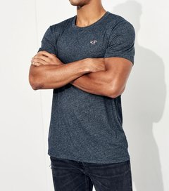 Camisetas masculinas Hollister Must-Have - Kit com 3 Unidades - Closety