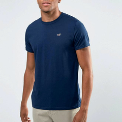 Camiseta masculina Hollister Must-Have BLU