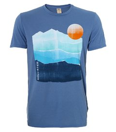Camiseta masculina Hollister Arizona