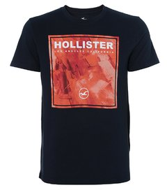 Camiseta masculina Hollister Drafting