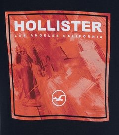 Camiseta masculina Hollister Drafting - comprar online