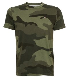 Camiseta masculina Hollister Military