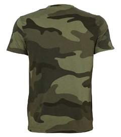 Camiseta masculina Hollister Military na internet