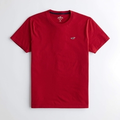 Camiseta masculina Hollister Must-Have RED