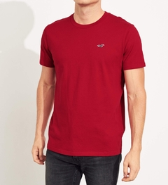 Camiseta masculina Hollister Must-Have RED - comprar online