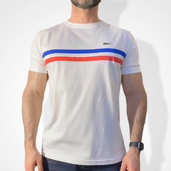 Camiseta masculina LAC0STE France