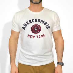 Camiseta masculina Abercrombie & Fitch S&R Division