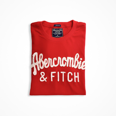 Camiseta masculina Abercrombie & Fitch Lacrosse RED na internet