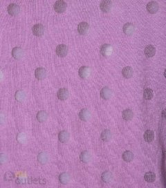 Camiseta feminina Aéropostale Dots Grape - comprar online