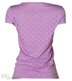 Camiseta feminina Aéropostale Dots Grape na internet