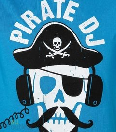 Camiseta infantil masculina The Children's Place Pirate DJ