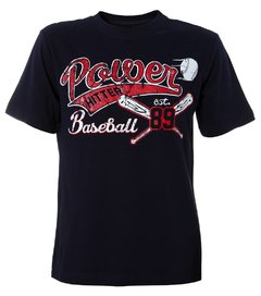 Camiseta infantil masculina The Children's Place Baseball Red