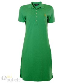 Vestido gola polo feminino Irish Yellow