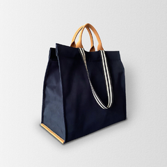 Bolsa Shopping Bag MNovak Marinho Lisa - comprar online