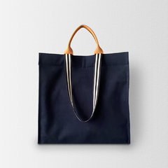 Bolsa Shopping Bag MNovak Marinho Lisa
