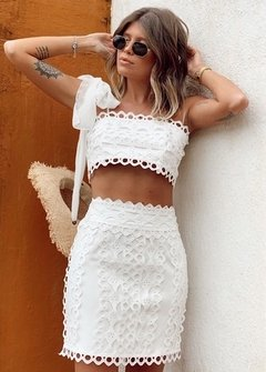 Conjunto July Rio Off White