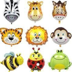 Globo animales - flash deco