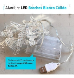 Alambre Broches - flash deco