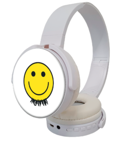Headphone Sem Fio - Logo Barbixas
