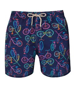 Shorts Especial Long Bike Marinho