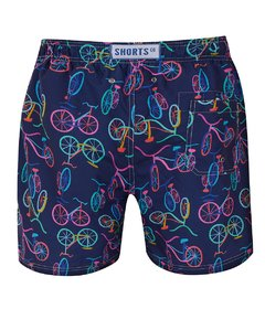 Shorts Especial Long Bike Marinho - comprar online
