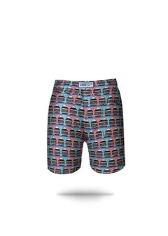 Shorts Regular Barcos Grafia - comprar online