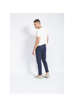 Navy Linen Pants - ShortsCo