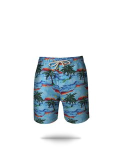 Shorts Long Paisagem